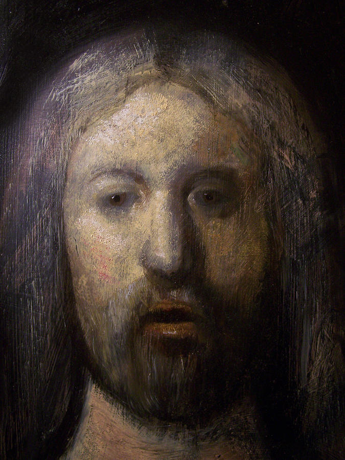 Portrait Of Jesus Christ Detail Painting