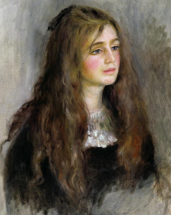 Portrait Of Julie Manet  Painting