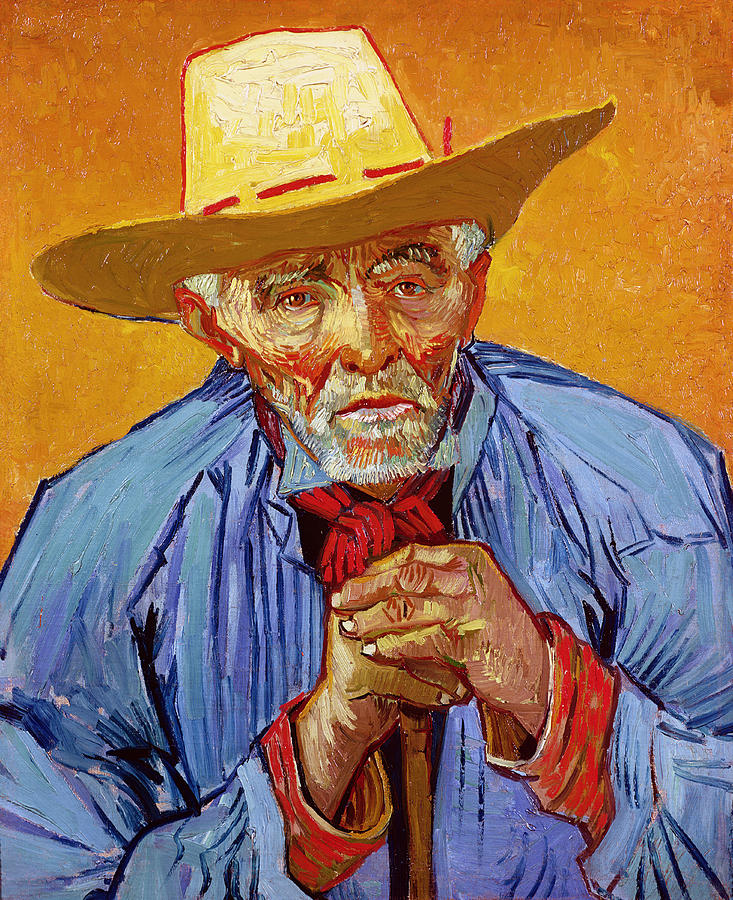Portrait Of Patience Escalier Painting