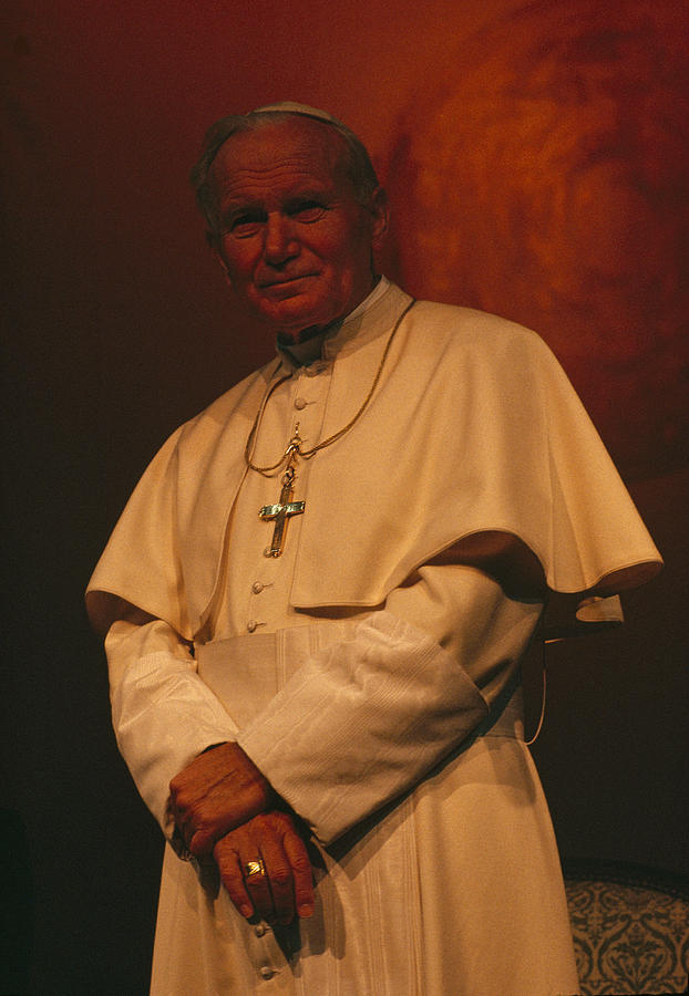 Portrait Of Pope John Paul II Photograph