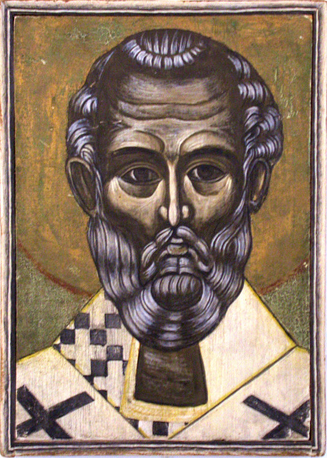Portrait Of Saint Nicholas Painting  - Portrait Of Saint Nicholas Fine Art Print