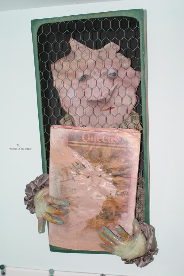 Portrait Of The Oddist Sculpture