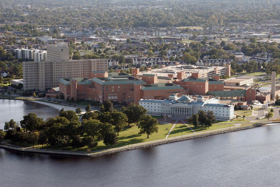 Portsmouth Naval Hospital Photograph