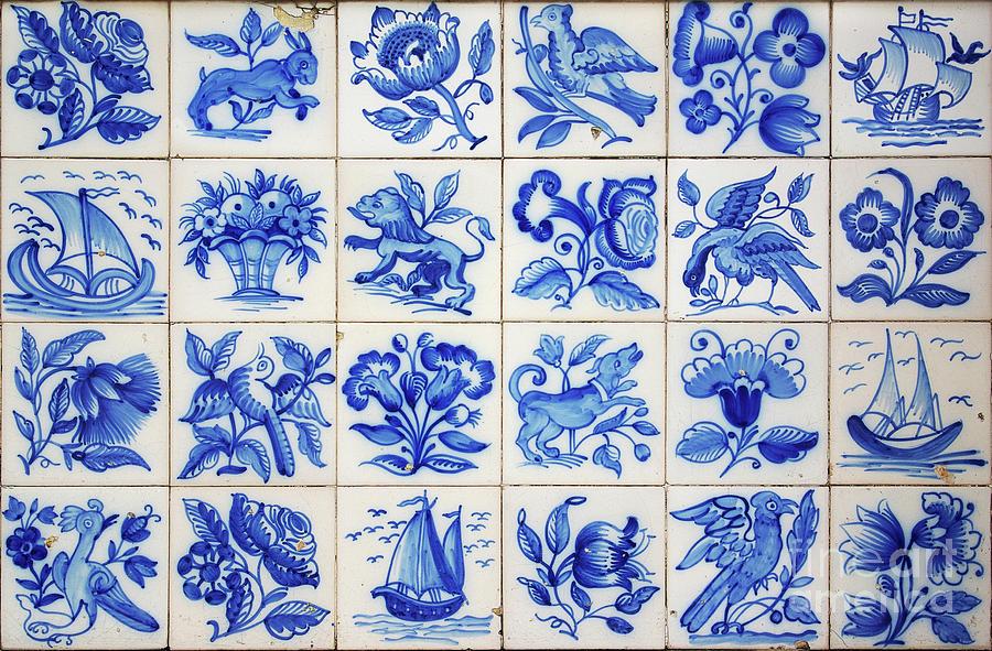 Portuguese Tiles Photograph