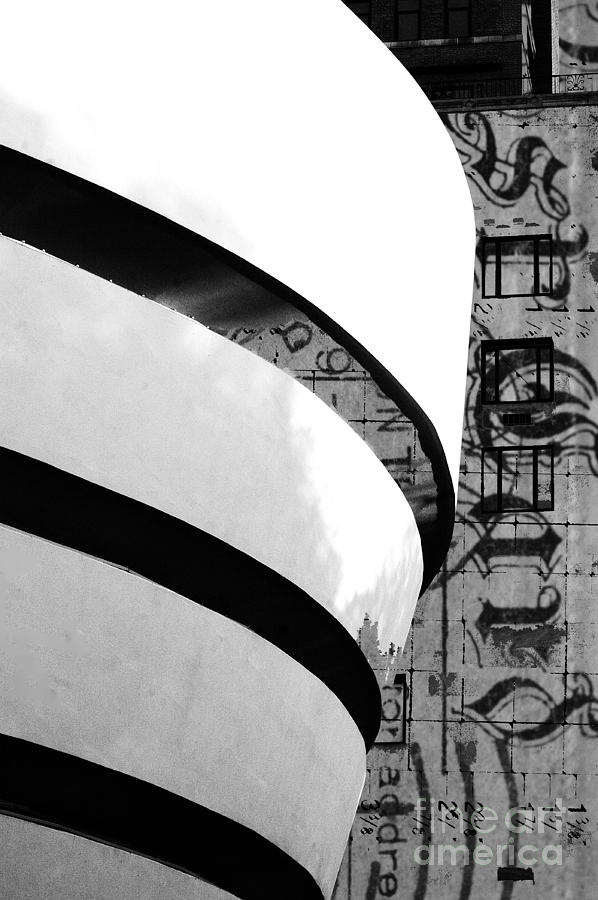Postcard From The Guggenheim Digital Art  - Postcard From The Guggenheim Fine Art Print