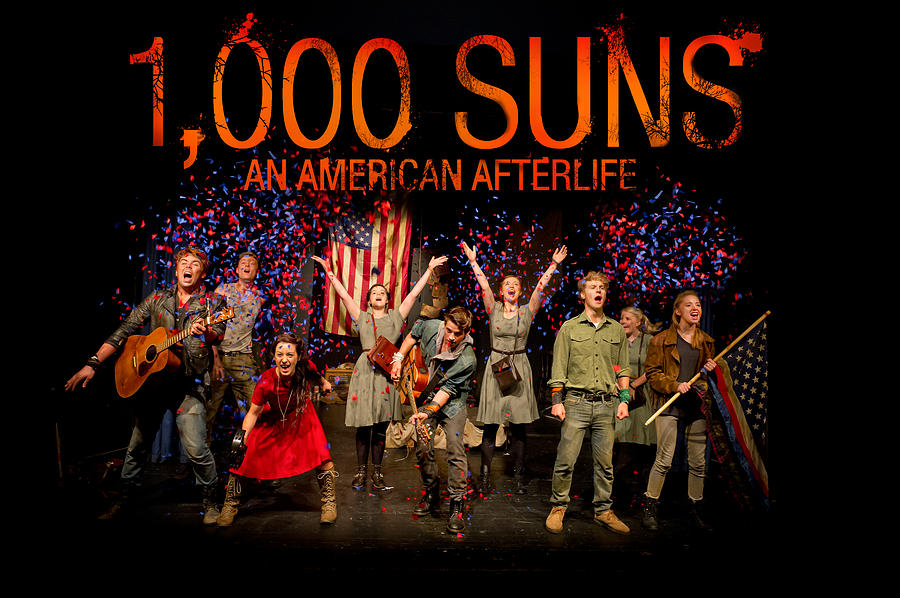 Poster For 1000 Suns - An American Afterlife Photograph
