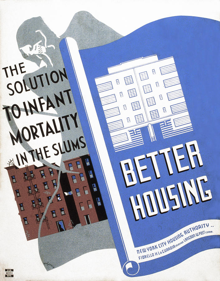 Poster Promoting Better Housing Photograph  - Poster Promoting Better Housing Fine Art Print