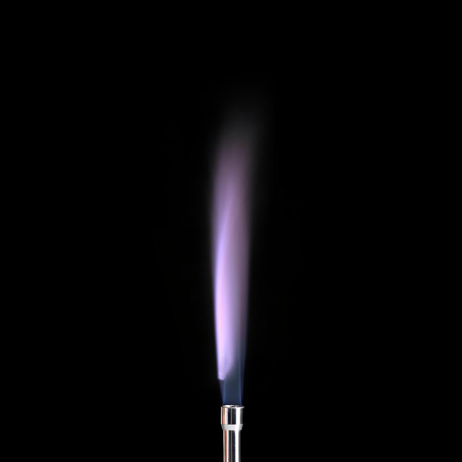 Flame tests using metal salts