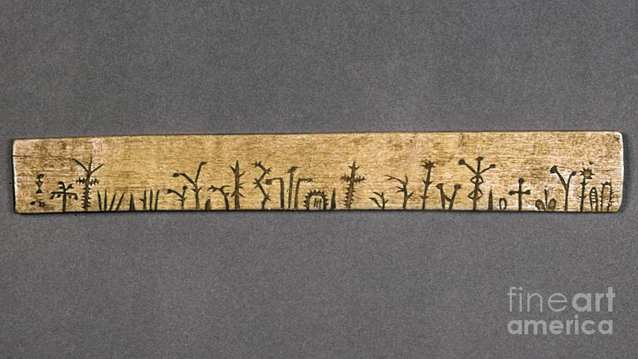 Potawatomi Medicine Stick Photograph