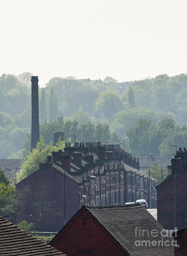 Potteries Urban Landscape Photograph  - Potteries Urban Landscape Fine Art Print