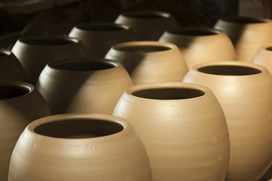 Abstract Photograph - Pottery In Thailand by Chatchawin Jampapha