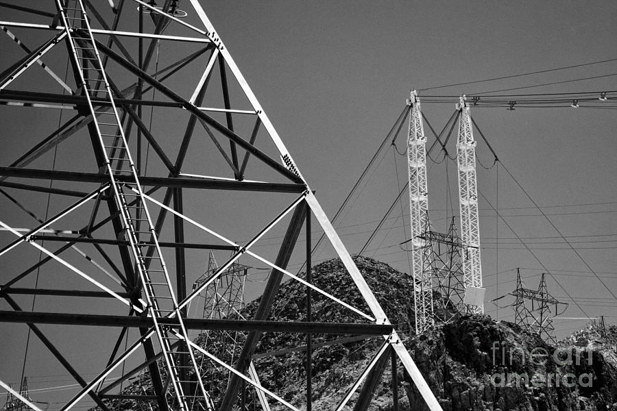 Power Lines Photograph  - Power Lines Fine Art Print