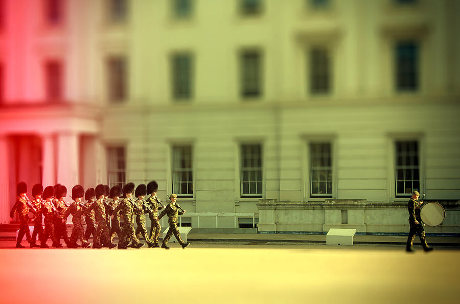 Soldiers Photograph - Practice Makes Perfect by Jasna Buncic