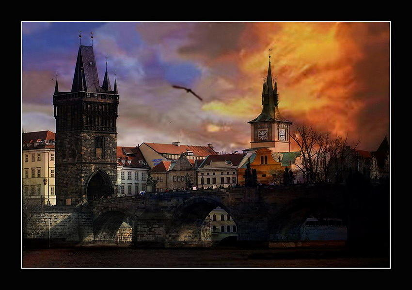 Prague - Charles Bridge Photograph