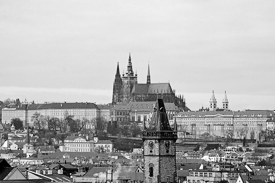 Prague Photograph - Prague - City Of A Hundred Spires by Christine Till