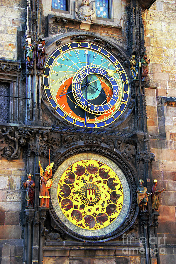 Prague Astronomical Clock 2 Photograph