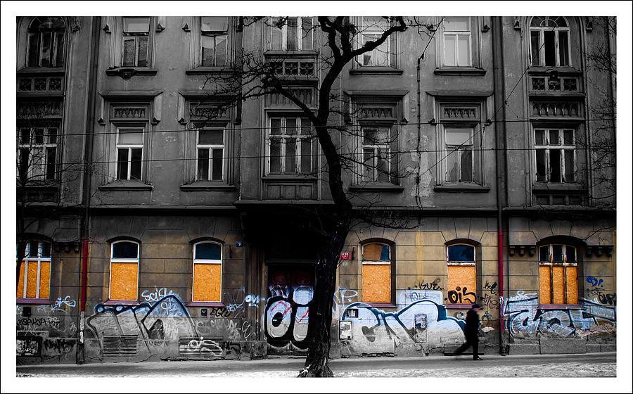 Prague Street Photograph