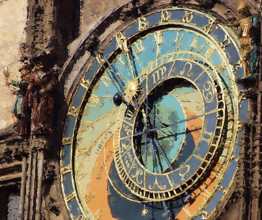 Praha Orloj Painting