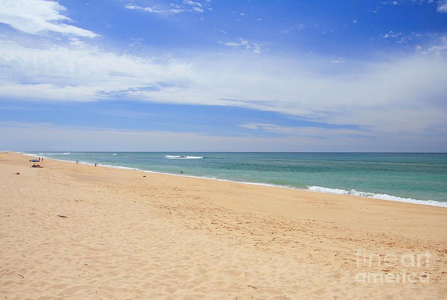 Praia De Faro Photograph