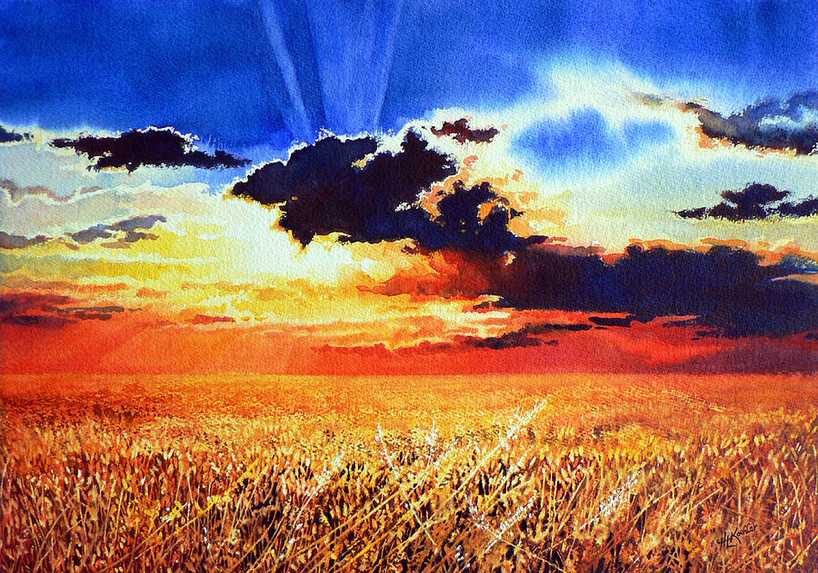 Prairie Gold Painting