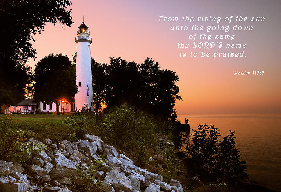 Praise His Name Psalm 113 Photograph