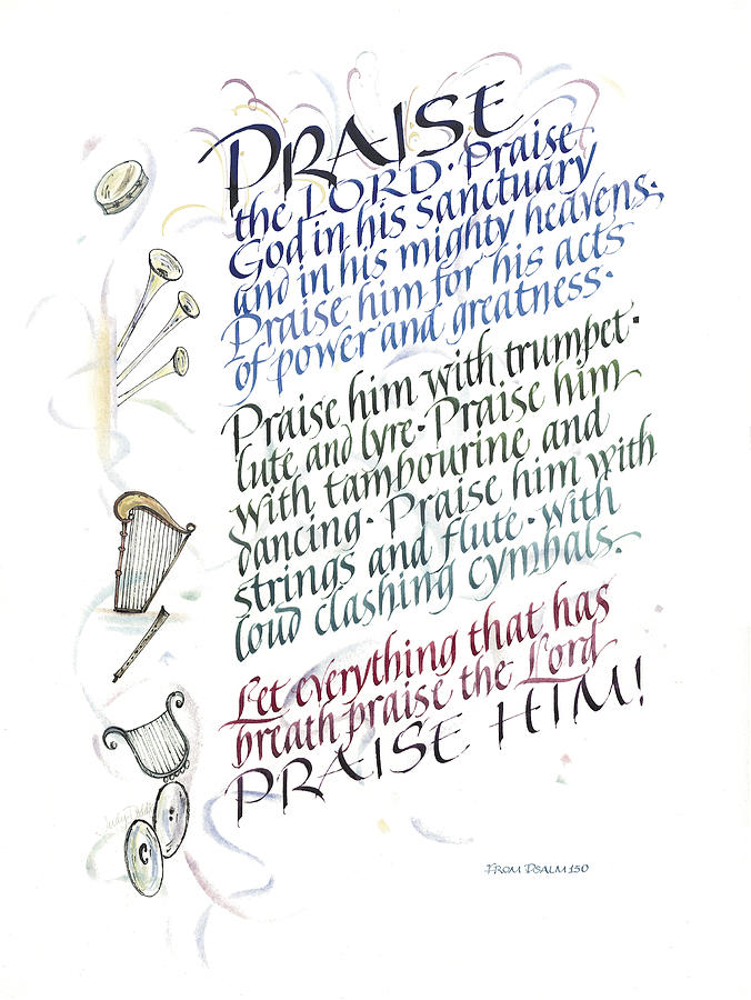 Praise The Lord Painting  - Praise The Lord Fine Art Print