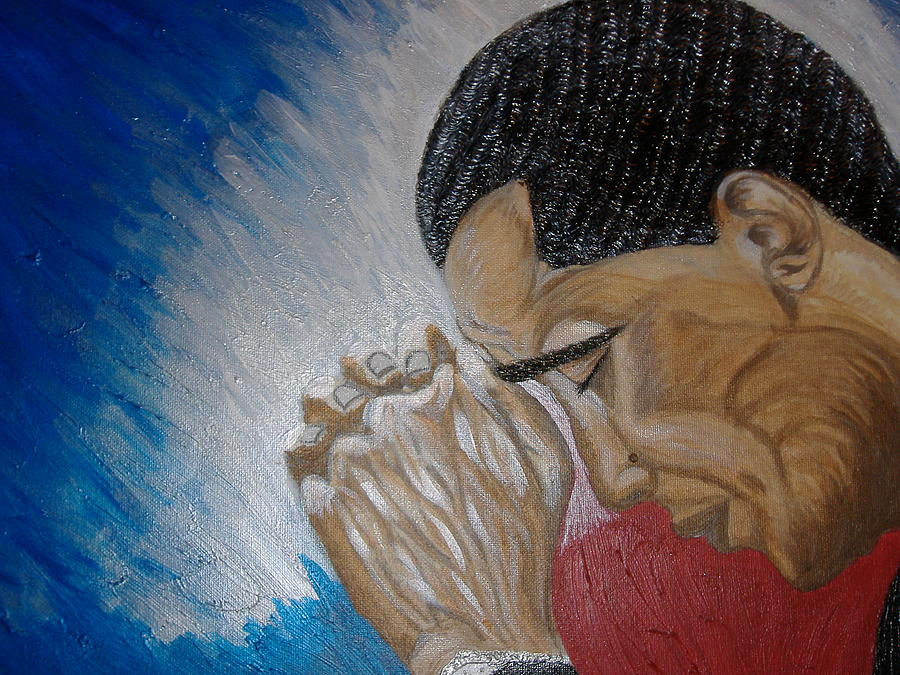 Pray For Peace Painting