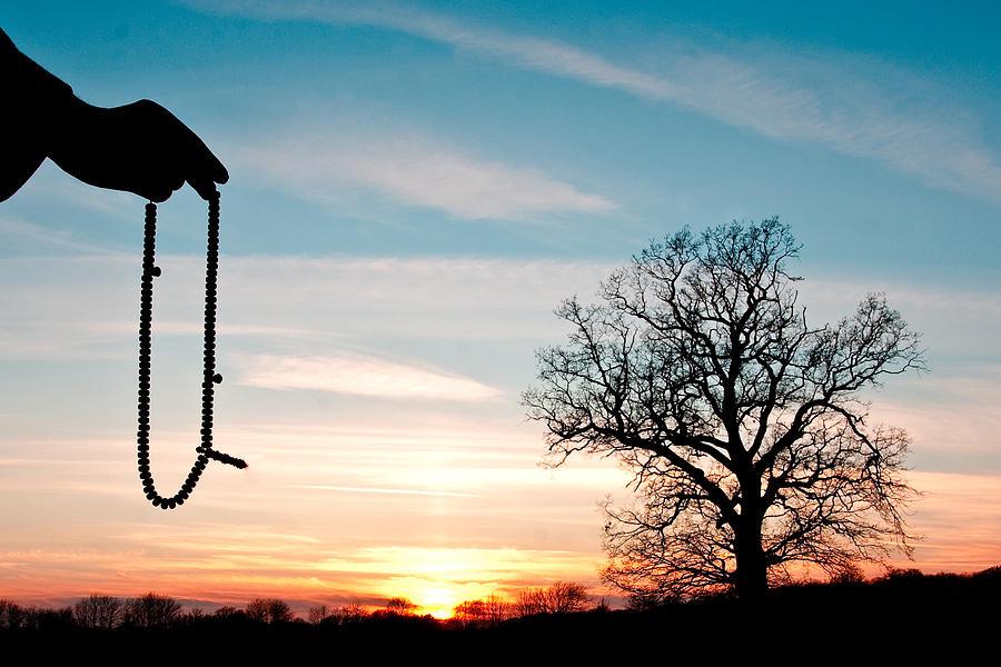 Art Photograph - Prayer Beads by Tom Gowanlock
