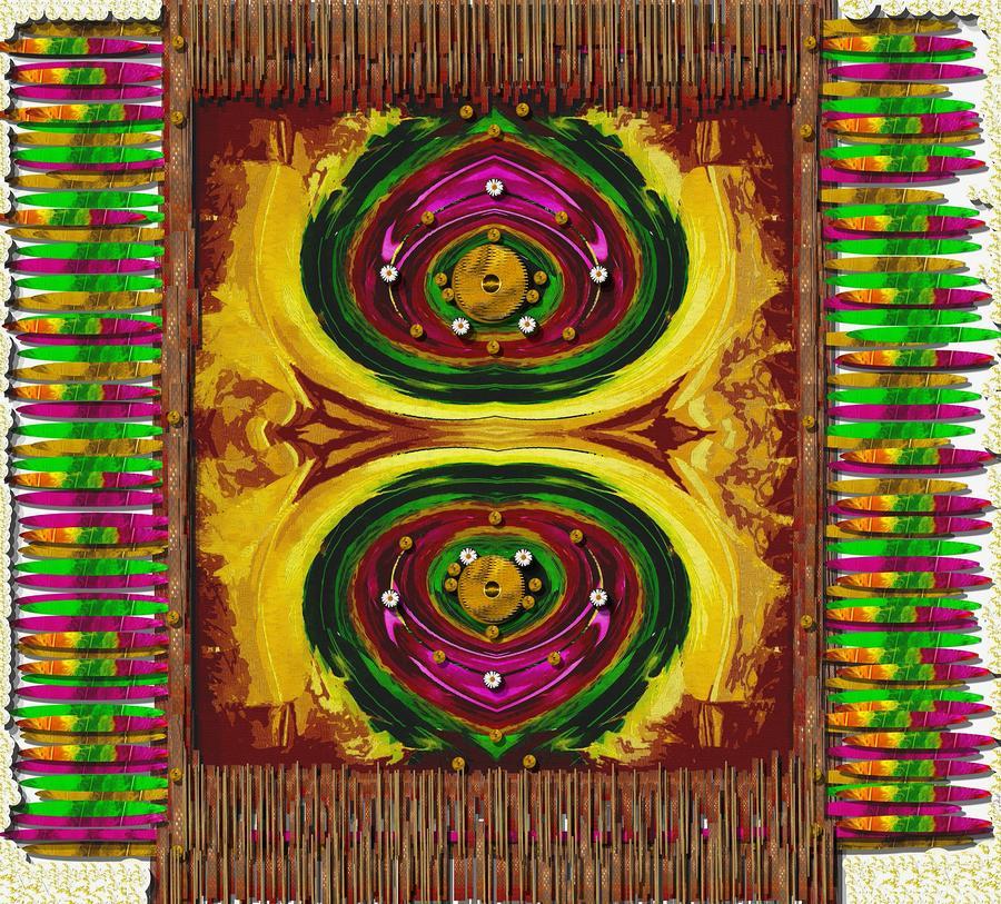 Prayer Rug Mixed Media