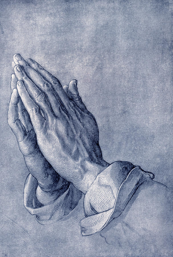 Praying Hands, Art By Durer Photograph