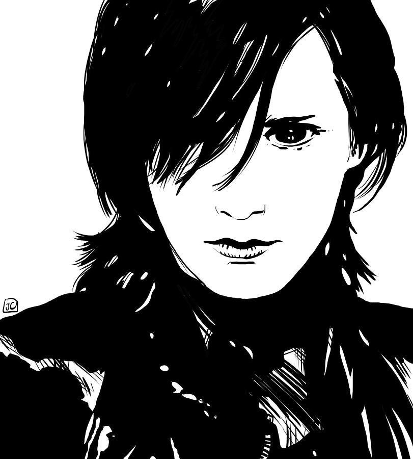 Preppy Vampire Drawing