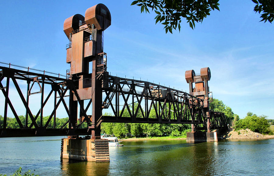 Prescott Lift Bridge Photograph