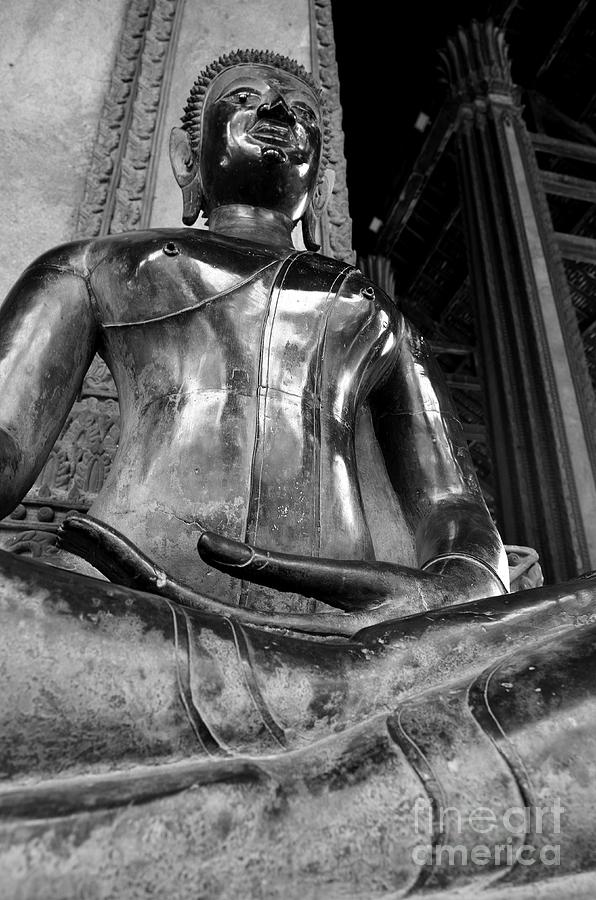 Buddha Photograph - Presence by Dean Harte