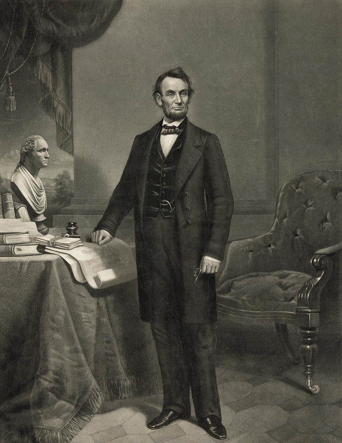 President Abraham Lincoln Photograph