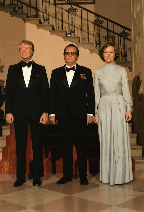 President And Rosalynn Carter Photograph  - President And Rosalynn Carter Fine Art Print