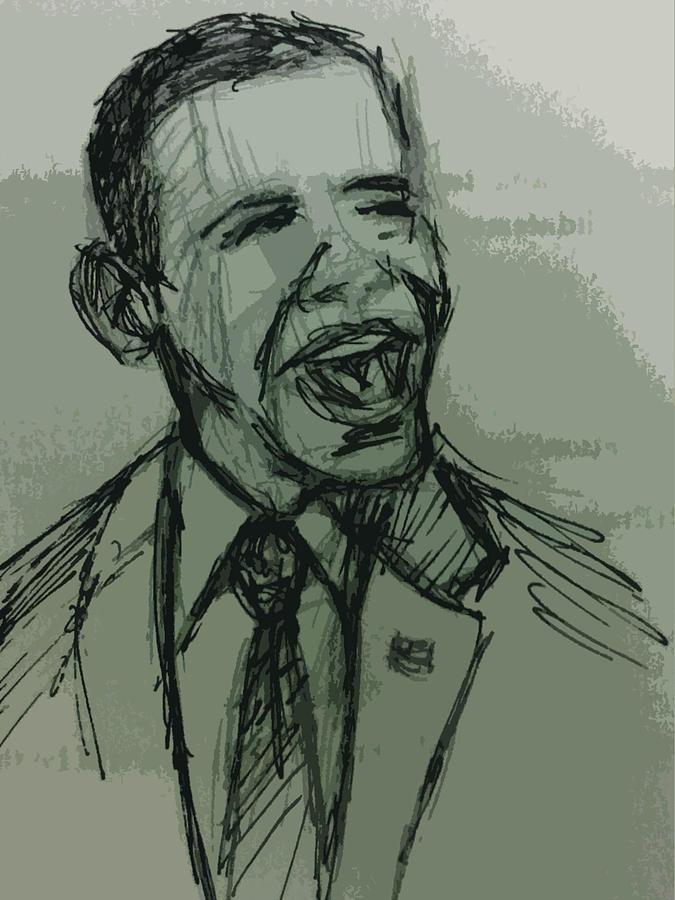 President Photograph - President Barack Obama by William Winkfield