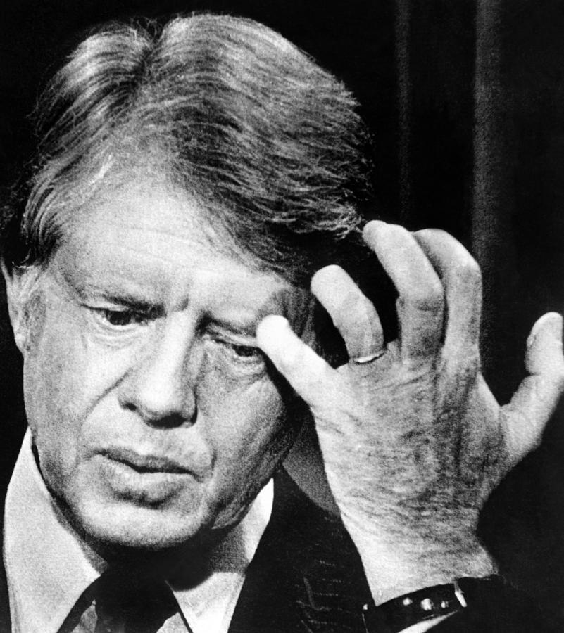 President Jimmy Carter. Oct. 1977 Photograph By Everett
