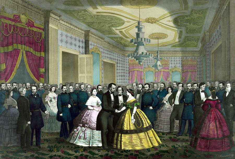 President Lincolns Last Reception Painting