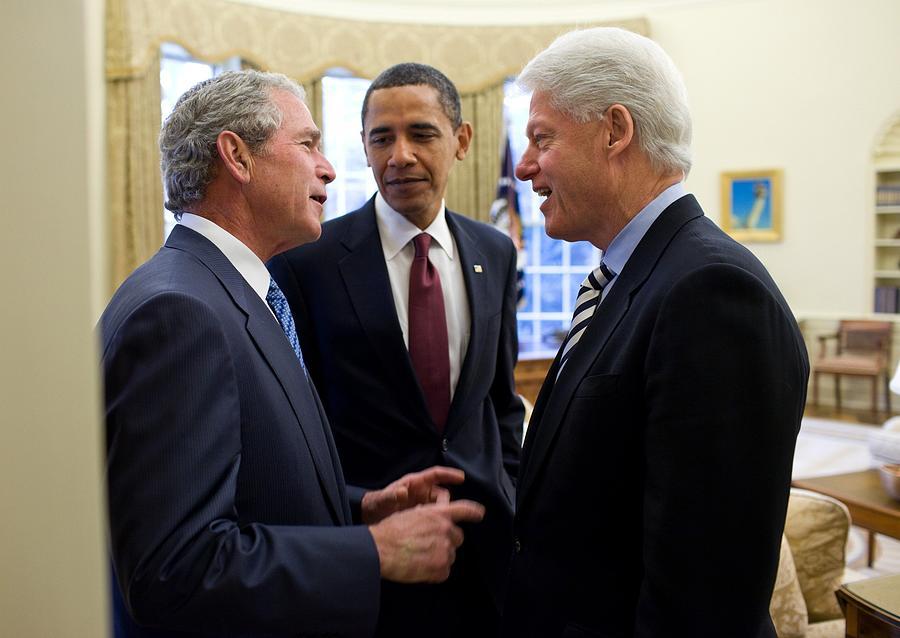 History Photograph - President Obama Listens by Everett