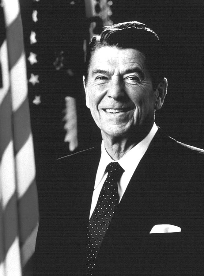 President Ronald Reagan, 1981 Photograph