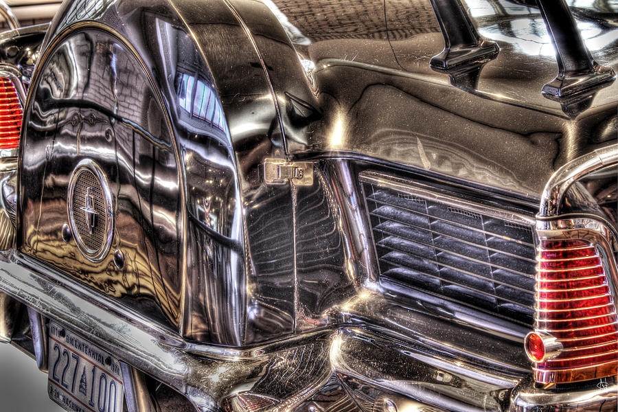 Presidential Lincoln Tail Lights Dearborn Mi Photograph