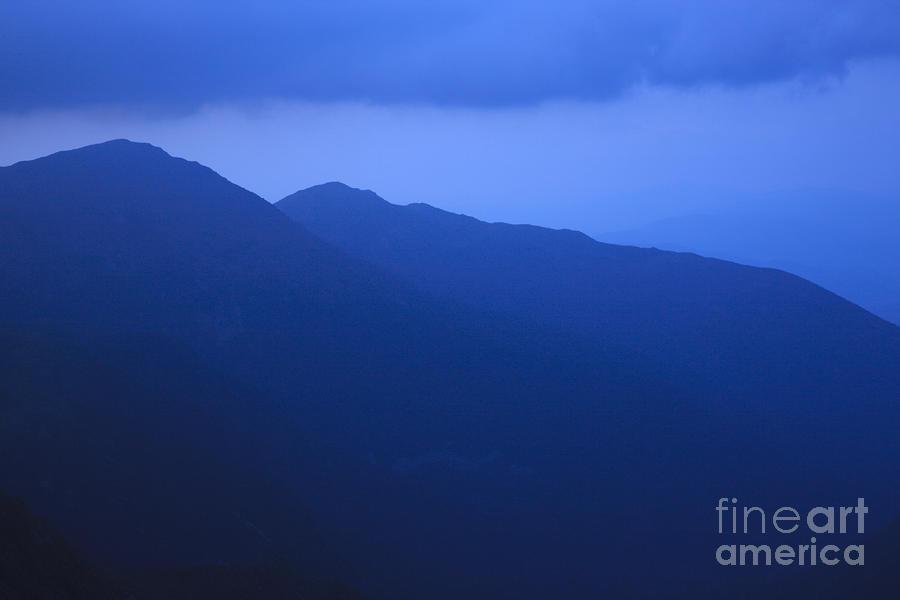 Presidential Range - White Mountains Nh Usa Photograph