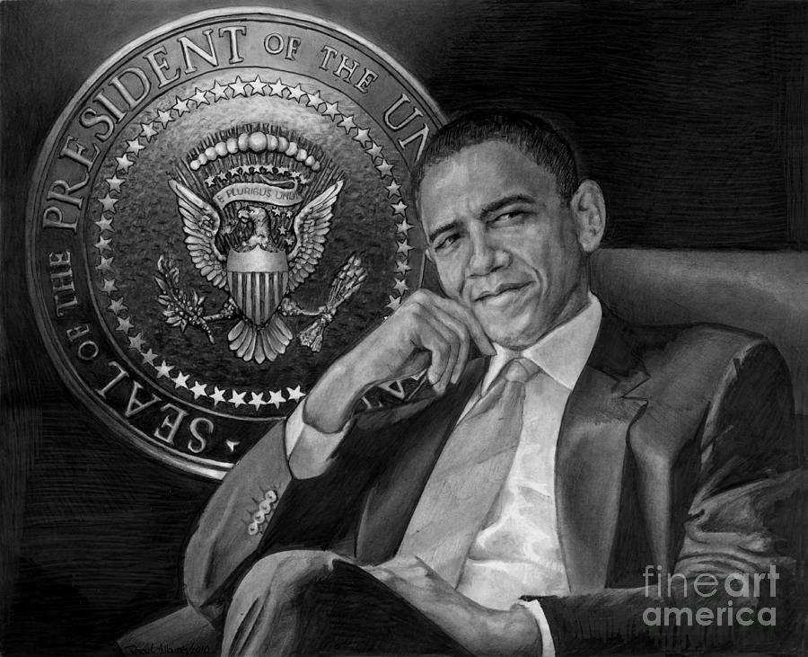 Presidential Seal Mixed Media  - Presidential Seal Fine Art Print