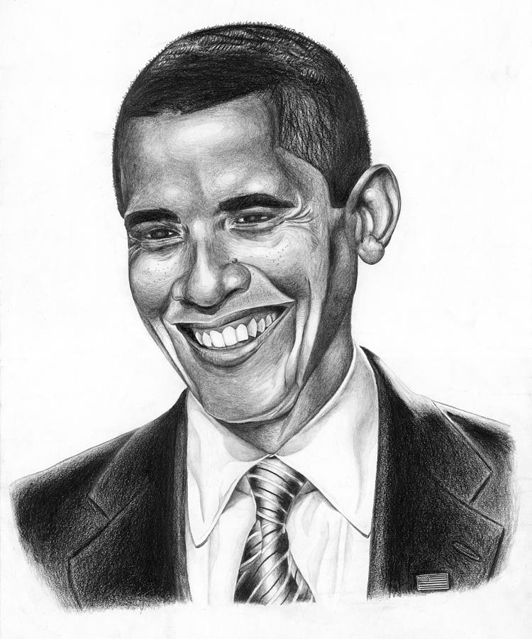 Presidential Smile Drawing