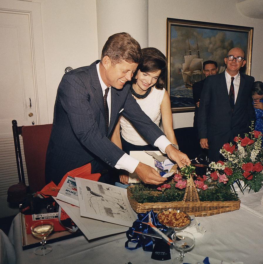 Presidents Birthday Party, Given Photograph