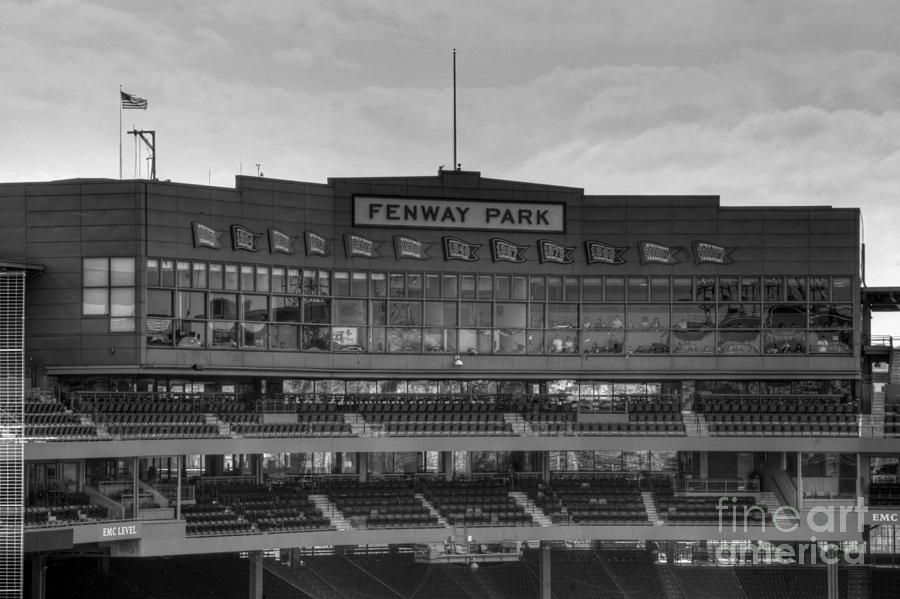 Press Box Photograph  - Press Box Fine Art Print