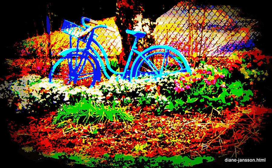 Pretty Bicycle Photograph  - Pretty Bicycle Fine Art Print