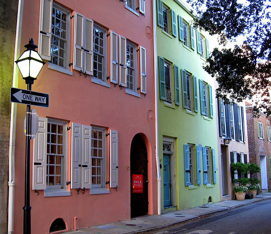 Pretty Lane In Charleston Photograph