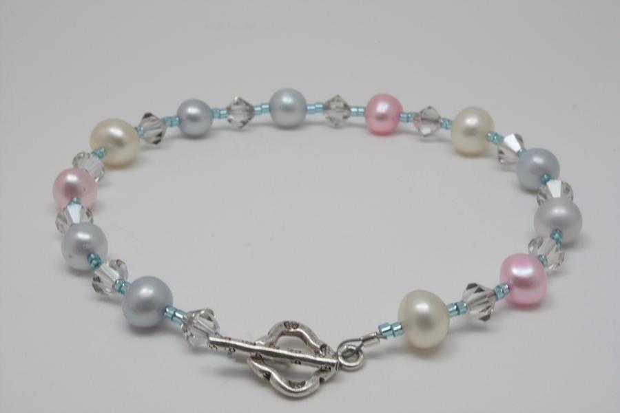Pretty Pastel Pearls Jewelry