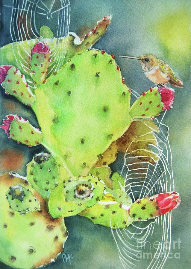Prickly Pair Painting
